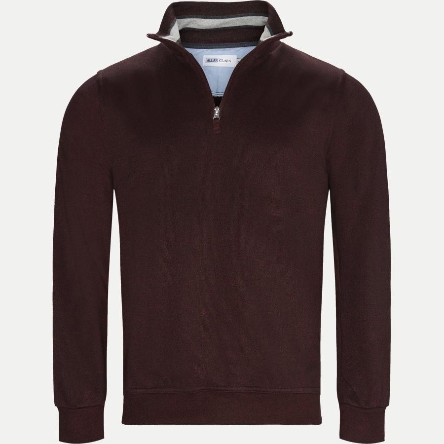 BILBAO - Bilbao Sweatshirt - Sweatshirts - Regular - BORDEAUX MEL - 1